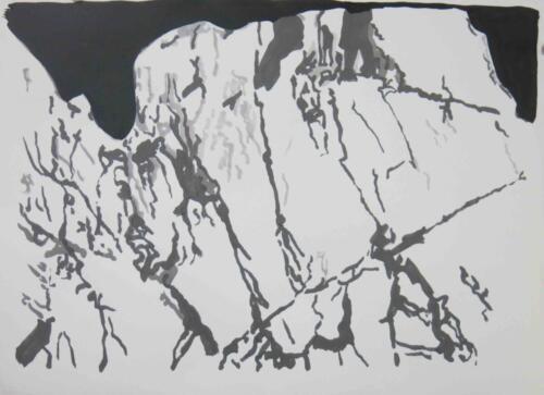 Tusche auf Büttenpapier, 2020 30x40 cm